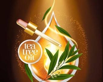 Chinese Tea Tree Essential Oil   100% Pure   Acne, Cleaning, Antibacterial   15ml   30ml   50ml   100ml   32oz