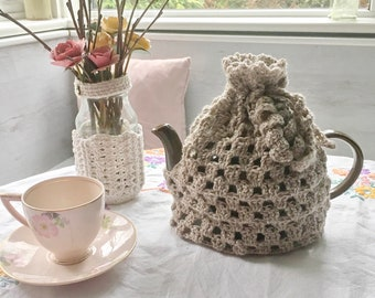 Pdf pattern - crochet pattern - tea cozy pattern - tea cosy pattern - crochet tea cosy pattern - mug hug cosy