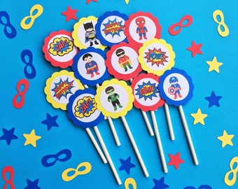 Super hero party Etsy