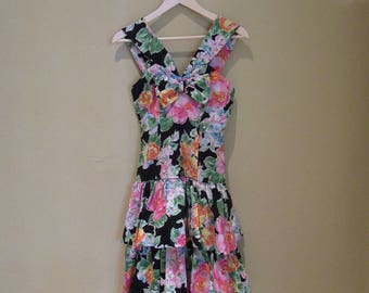 Niki Floral Dress