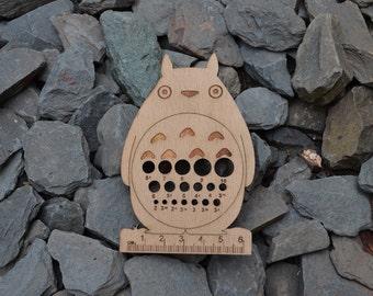 Wood Spirit Yarnies Knit and Crochet Tool - Inspired By My Neighbor Totoro - Eco Friendly Wood - Hayao Miyazaki