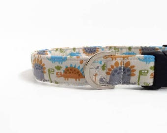 Dinosaur Dog Collar | Boy Dog Collar | Dog Collar | Large Dog Collar | Male Dog Collar | Small Dog Collar | Puppy Collar | Fun Dog Collar