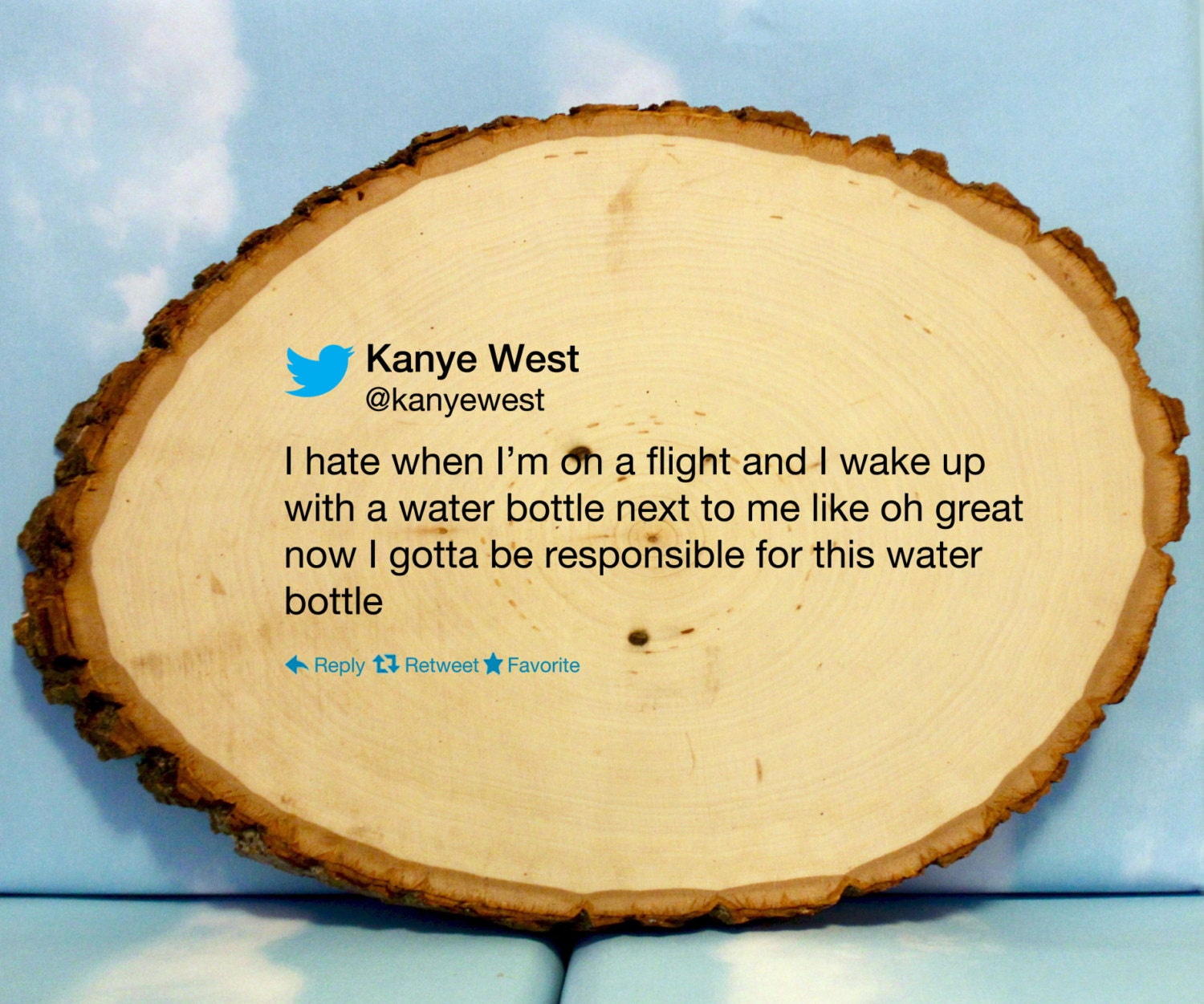 WOOD SIGN Kanye West Quote Twitter Famous Tweet Hand painted