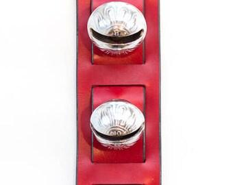 Sleigh bell door knocker