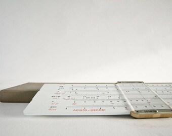 Aristo geodat 958, 400gr, slideruler, geometric, ruler, measuring tool,