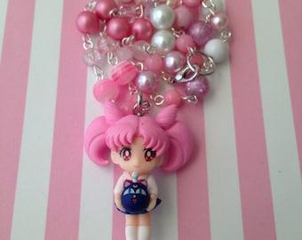 Chibiusa // Sailor Moon // Beaded Necklace