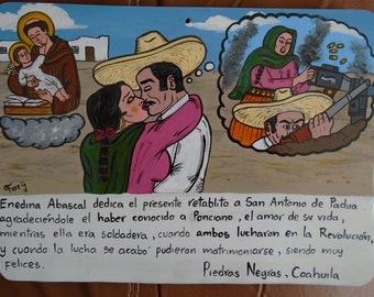 Ex-voto-contemporary vote love theme in the Mexican Revolution