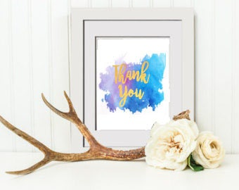 INSTANT DOWNLOAD Wedding Thank You Sign, Wedding Sign, Wedding Guestbook Sign, Floral Bridal Shower Mimosa Bar Sign, Bridal Shower Sign