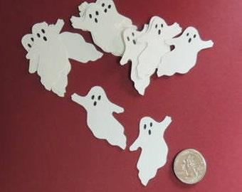 Ghost Die Cut, Paper Die Cut, Ghost Silhouette