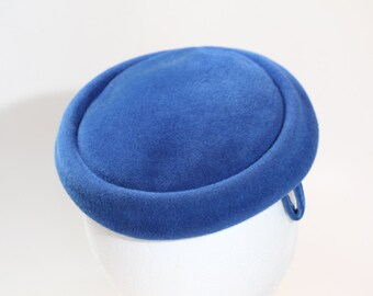 Vintage Carson Pirie Scott & Co. Blue Felt Topper Hat
