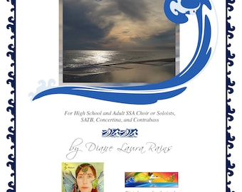 MOTHER SEA choral score ~ digital PDF + limited license to print (choose # of copies in Quantity menu below )