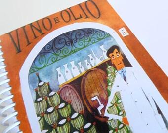 Wine Shop in Rome - A6 Notebook