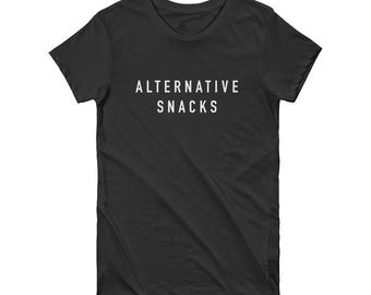 Alternative Snacks Funny T-Shirt | Alternative Facts Funny Shirt, Political Shirt, Democrat Shirt, I'm With Her
