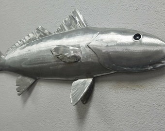 Redfish Wall Art, Red Drum, Fish Wall Decor, Metal Fish Wall Art, Metal Wall Art, Beach Decor, Beach Themed Wall Decor, Outdoor Beach Decor