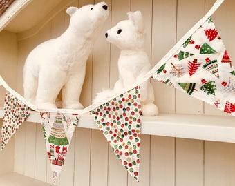 Traditional Themed Christmas Bunting - Long
