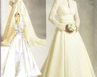 Vogue 2979 Misses' Wedding Gown Sewing Pattern, 12-16