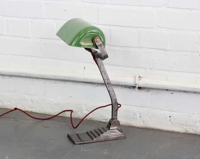 Factory Office Desk Lamp By Erpe Circa 1930s