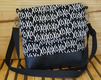 Medium Messenger Bag - Yes Please XO