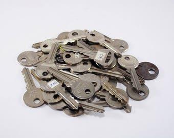 Antique skeleton key wedding keys steampunk decor jewelry supplies door keys rustic farmhouse key for crafting metal wall art old style key