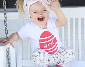Easter Shirt Kids - Good Egg Shirt - Kids Easter Outfit - Boys Easter Outfit - Hipster Easter Shirt - Girls Easter Outfit