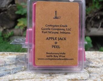 Apple Jack and Peel Pure Soy Breakaway Melt.