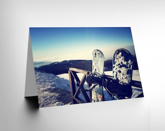 New Photography Sport Snowboarding Snowboard Snow Cold Greetings Card CL1149