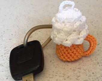 Mug Beer Keychain Amigurumi