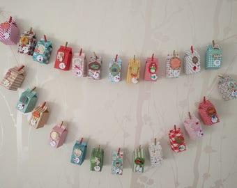 Hand-made advent calendar