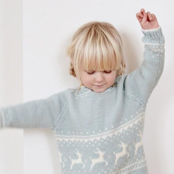 Vintersweater - Strikkeopskrift - DK