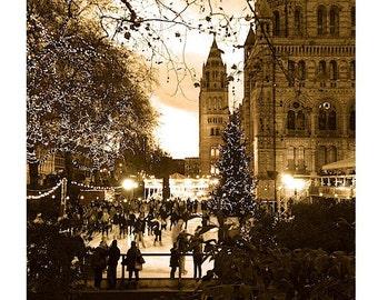 London Photography, Festive Photos, Fairy Light Photos, Antique Photos, Christmas Prints, London Iceskating photo