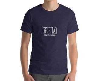 Christian shirt, without Jesus I am nothing T shirt, religious shirt, Short-Sleeve Unisex T-Shirt