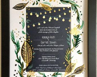 Custom Wedding Invitation Gift