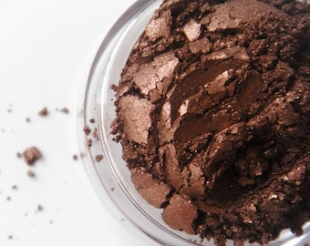 Chocolate- All Natural Mineral Eyeshadow Pigment (Vegan)