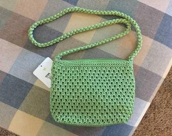 Green handbag - new with tags