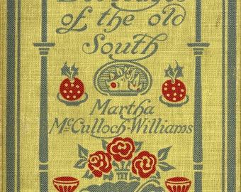 Dishes & Beverages Southern Cookbook 1910s Digital PDF Download eBook American Cuisine How-to Vintage Food