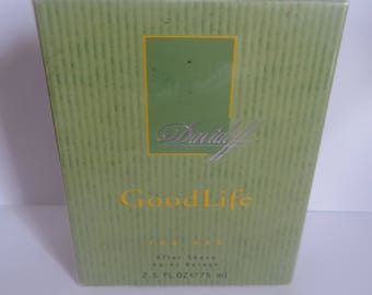 Good Life by Davidoff After Shave Lotion for men 75ml very rare discontinued