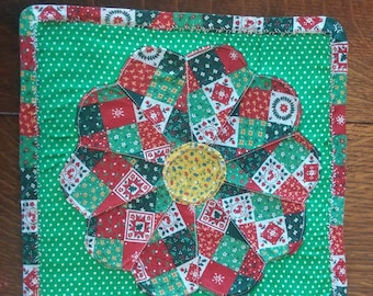 Christmas Quilted Pot Holders