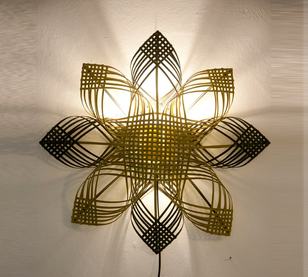 Shining star wall dcor lighting housewarming gift cool zoom arubaitofo Image collections