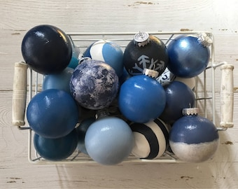 The Nautical Collection -Coastal/Beach Chistmas Ball Ornaments