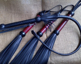 Leather flogger / Adult toy (BDSM)