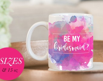 Bridesmaid Mug, Bridesmaid Gift, Wedding Mug, Bridesmaid Proposal, Be My Bridesmaid Mug, For Bridesmaid Mug, Mug Gift Bridesmaid, Coffee Mug
