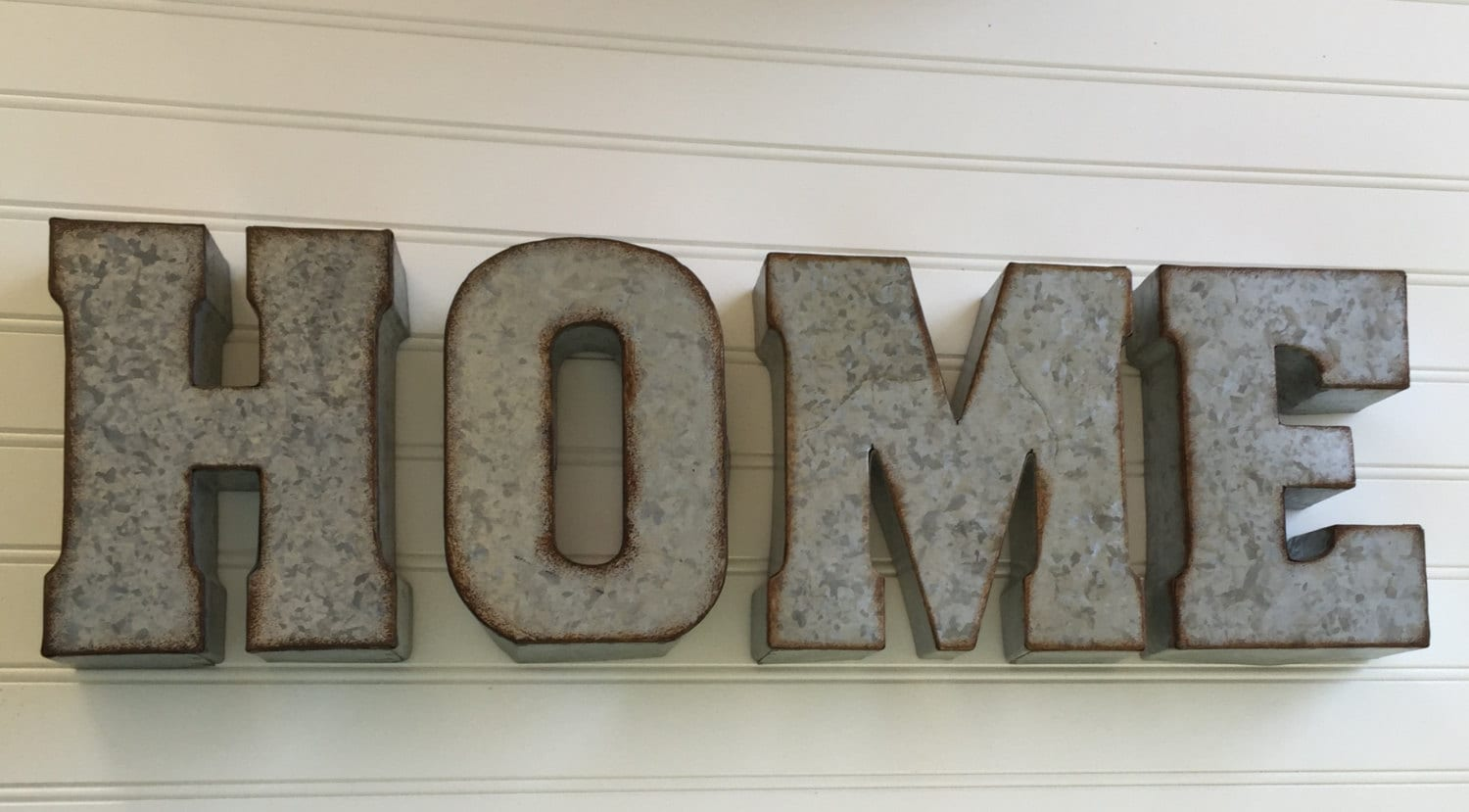 Steel Letters For Walls Decorative Metal Letter You Pick  Home Wall Letter Sign
