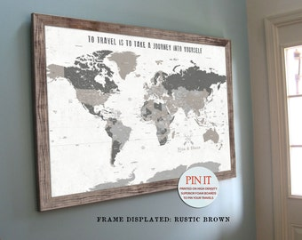 World maps push pin maps and travel related by worldvibestudio world map push pin world map world map wall art rustic wall decor gumiabroncs Choice Image