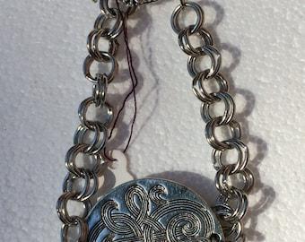 Flat Celtic Circle bracelet