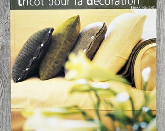 Knitting book for decoration