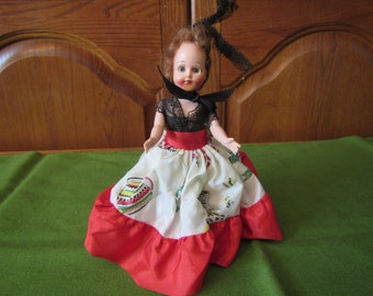 1940s Story Book Type doll * 7.5 inch * open and close eyes