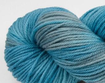 Handpainted DK weight yarn, 100% SW Merino, Spry115, 115 g, Calcite Springs