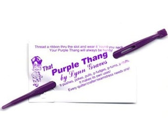 SALE That Purple Thang - Point Turner - Quilting Tool - Sewing Tool