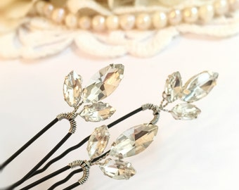 Wedding Hair Pins, Bridal Hair Pins Rhinestone Headpiece, wedding hair accessories bridal headpiece, hair pins silver, hair pins 471748796
