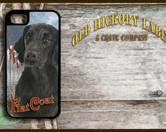 Flat Coated Retriever  iPhone 6/5/5c/4 Case -Samsung Galaxy S4/S5 Caseand S3-Phone Cover